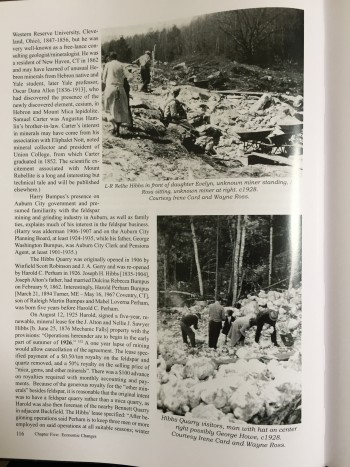 Image for Maine Feldspar, Families & Feuds: Oxford County Mining History