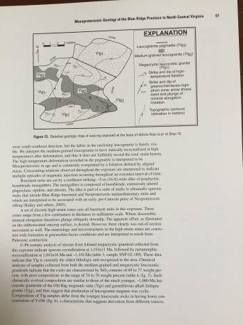 Image for Geology of the National Capital Region: Field Trip Guidebook
