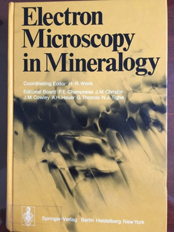 Image for Electron Microscopy in Mineralogy