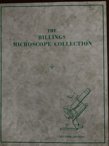 Image for The Billings Microscope Collection of the Medical Museum Armed Forces INstitute of Pathology
