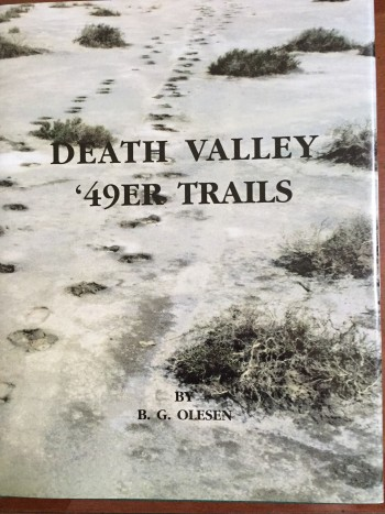 Image for Death Valley '49er Trails: Pieces of the Puzzle Come Together