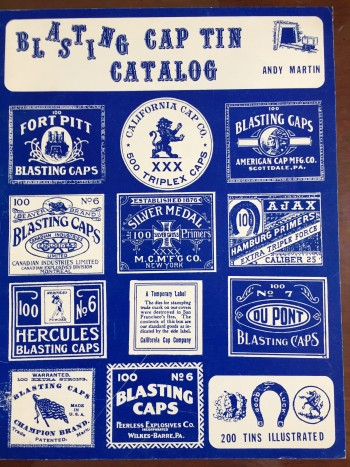 Image for Blasting Cap Tin Catalog