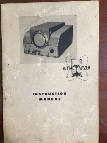 Image for The Time Analyzer: Instruction Manual