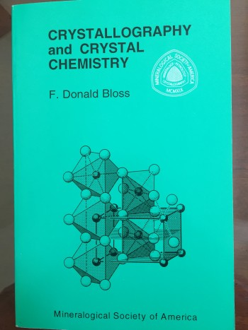 Image for Crystallography and Crystal Chemistry: An Introduction