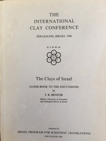 Image for The Clays of Israel: Guidebook to the Excursions