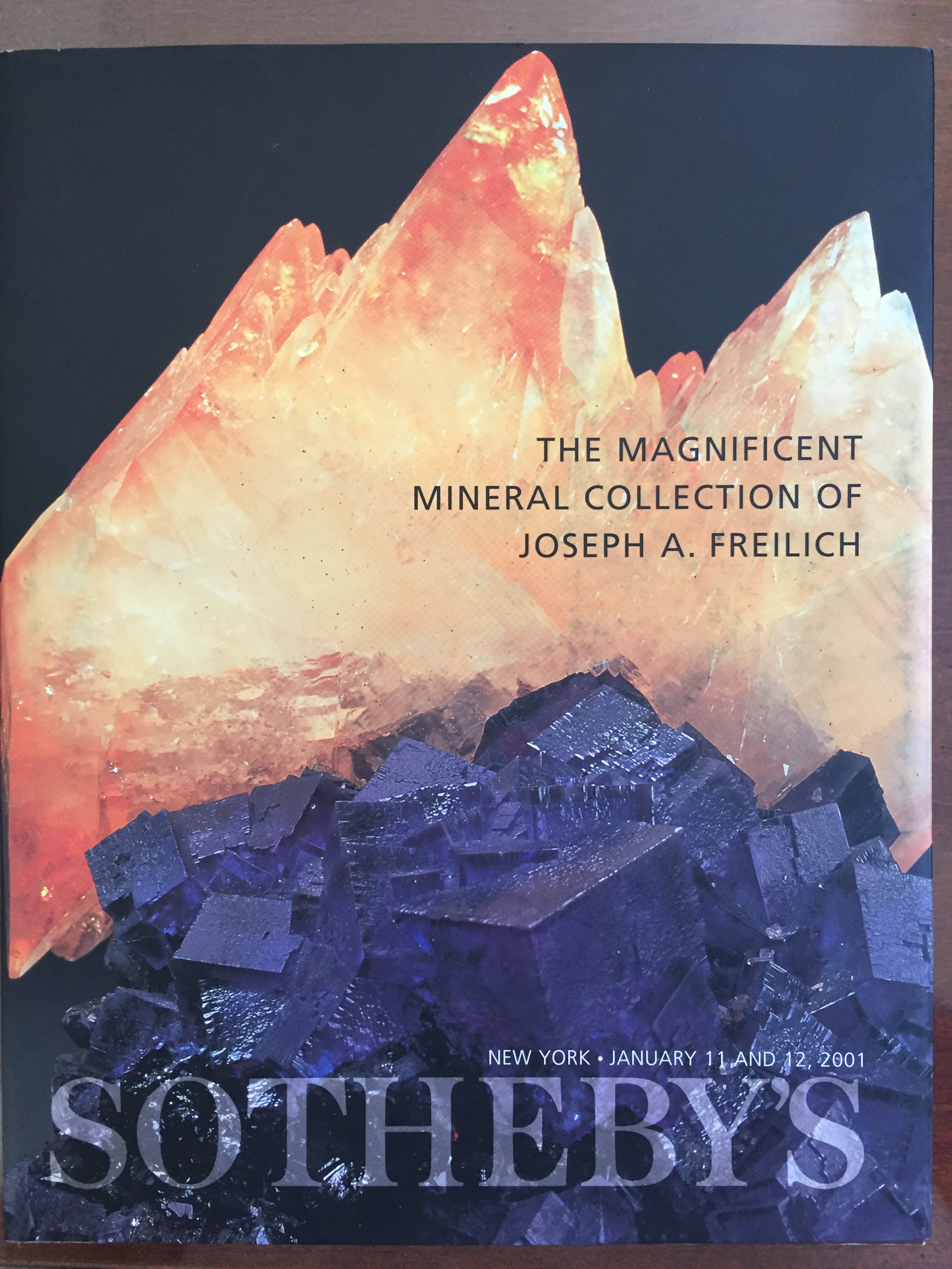 Image for The Magnificent Mineral Collection of Joseph A. Freilich