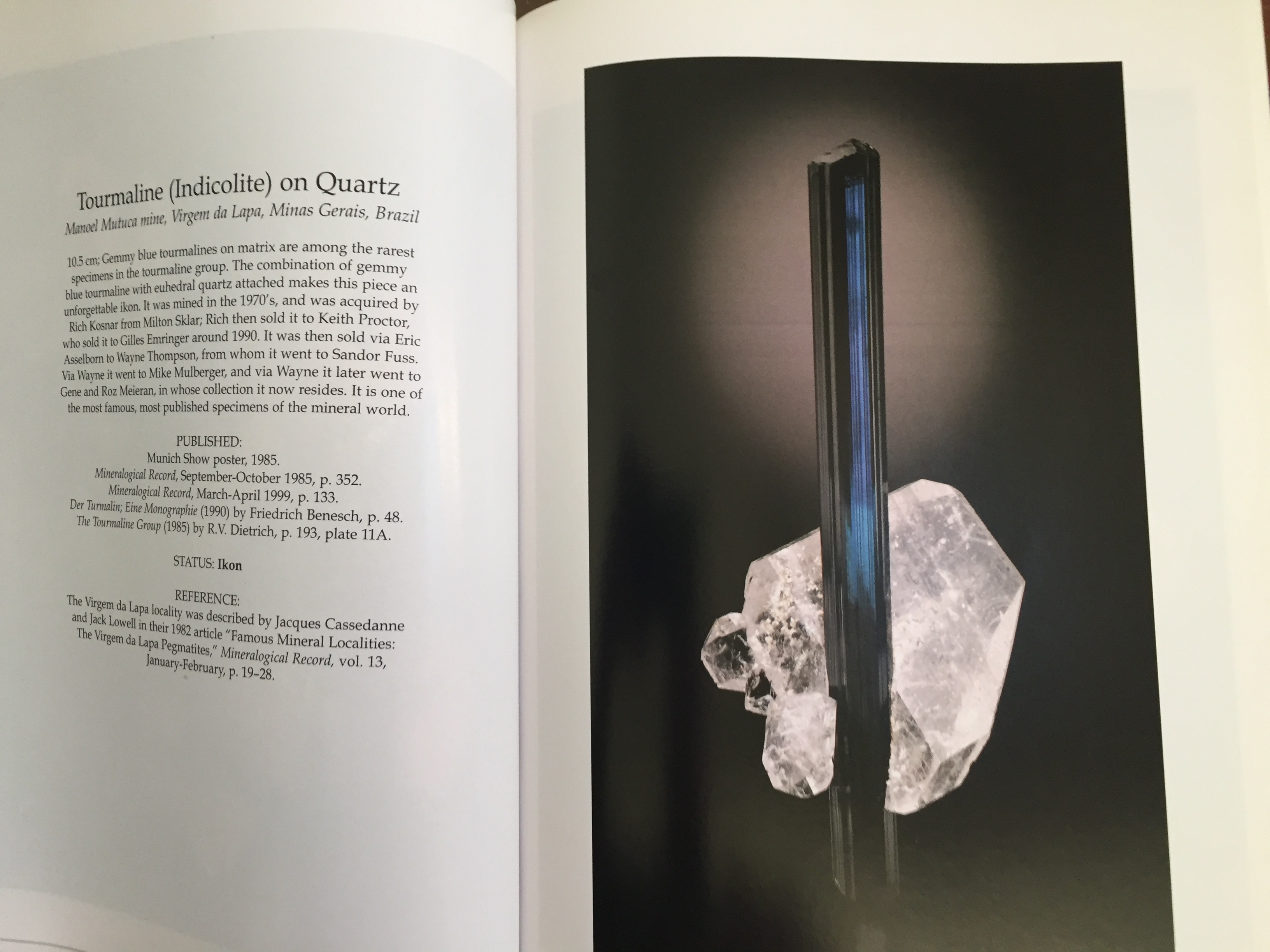 Image for Ikons, Classics and Contemporary Masterpieces of Mineralogy