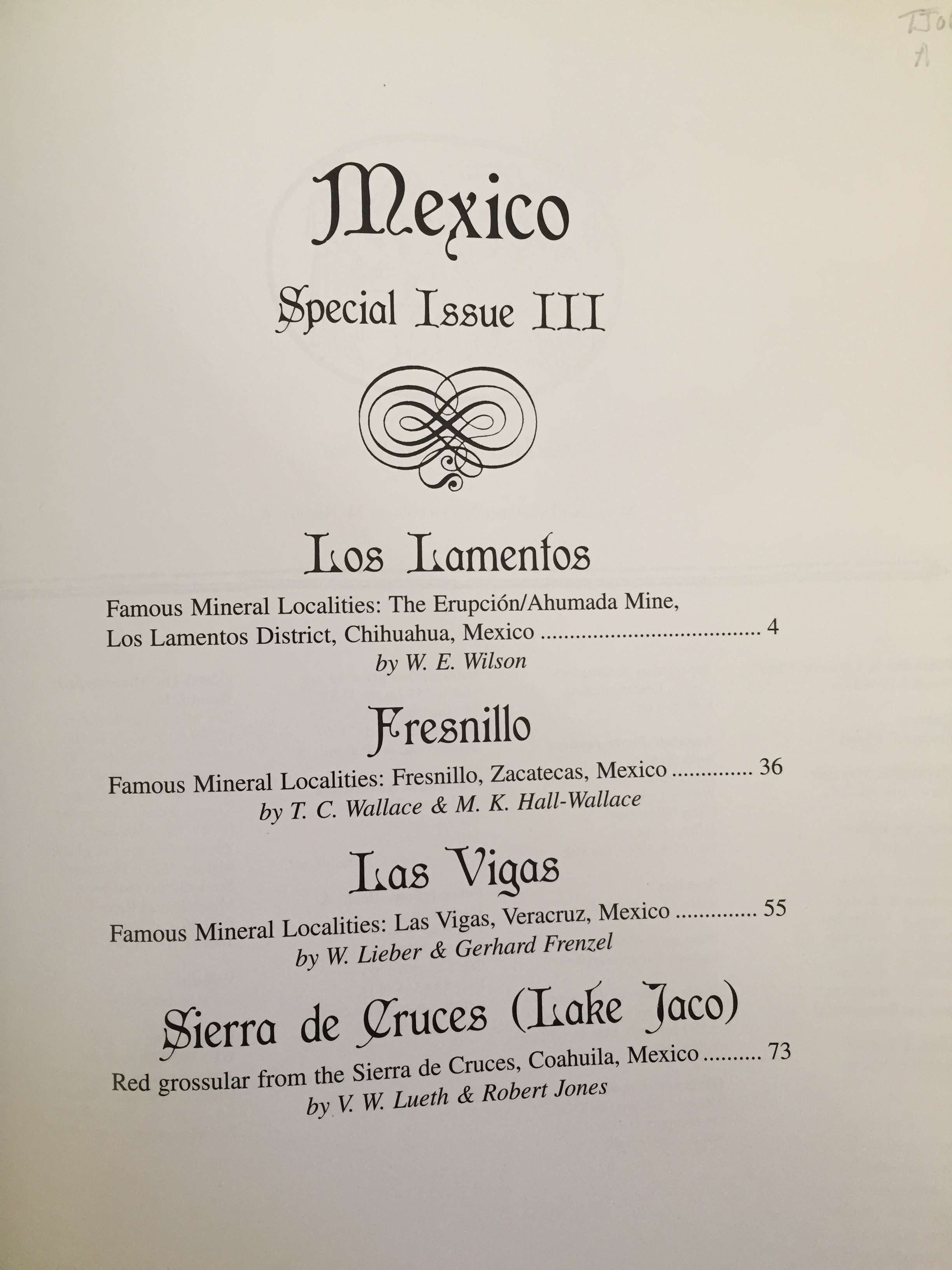 Image for Mexico: Special Issue III