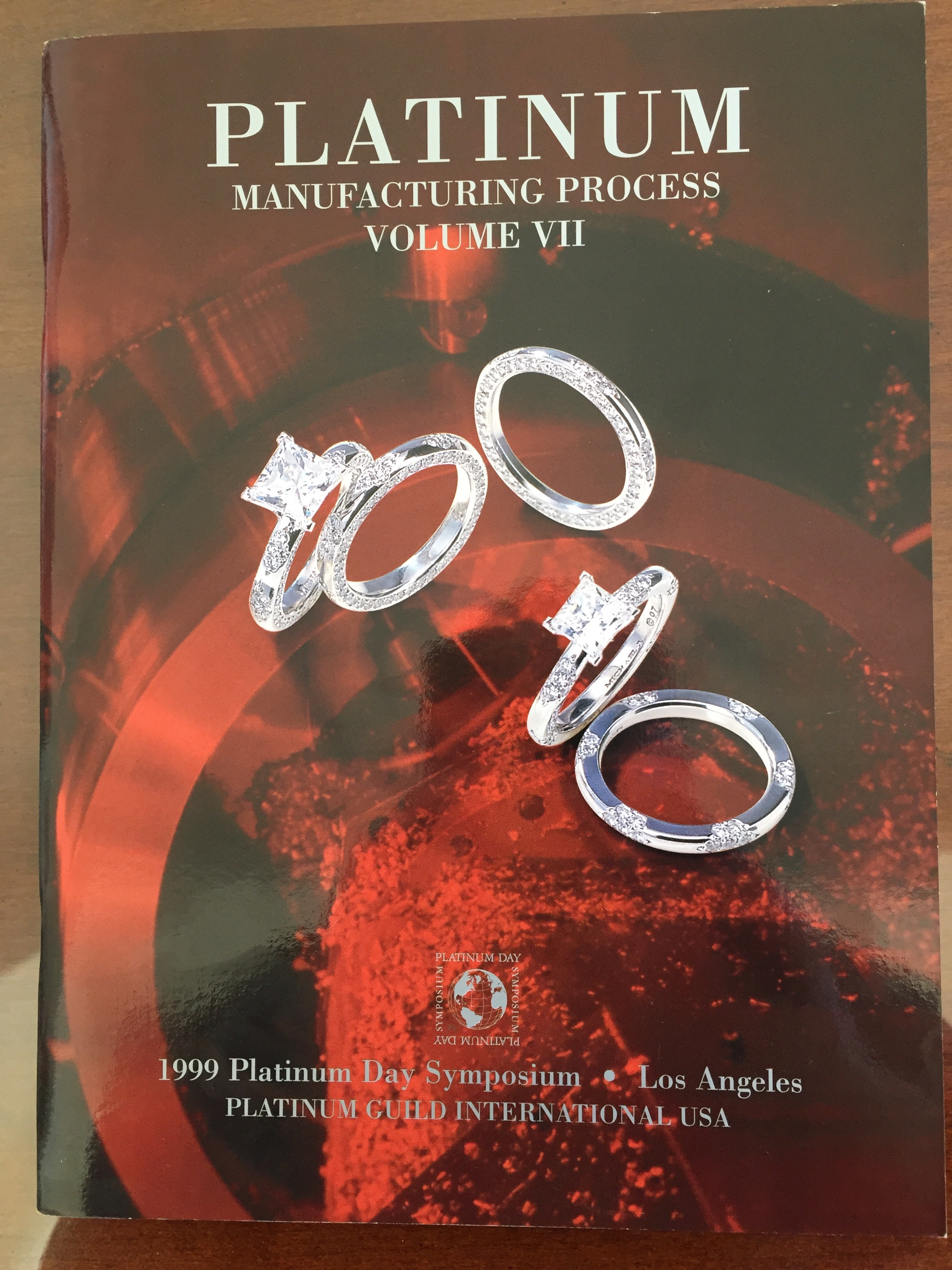 Image for Platinum Manufacturing Process Volume VII