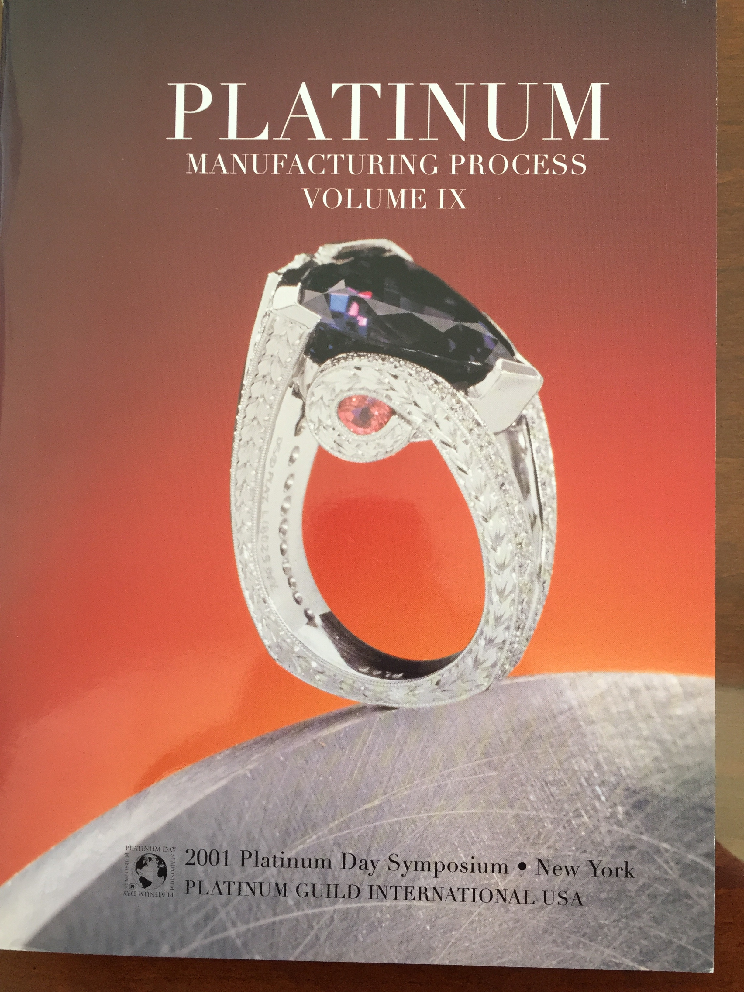 Image for Platinum Manufacturing Process Volume IX