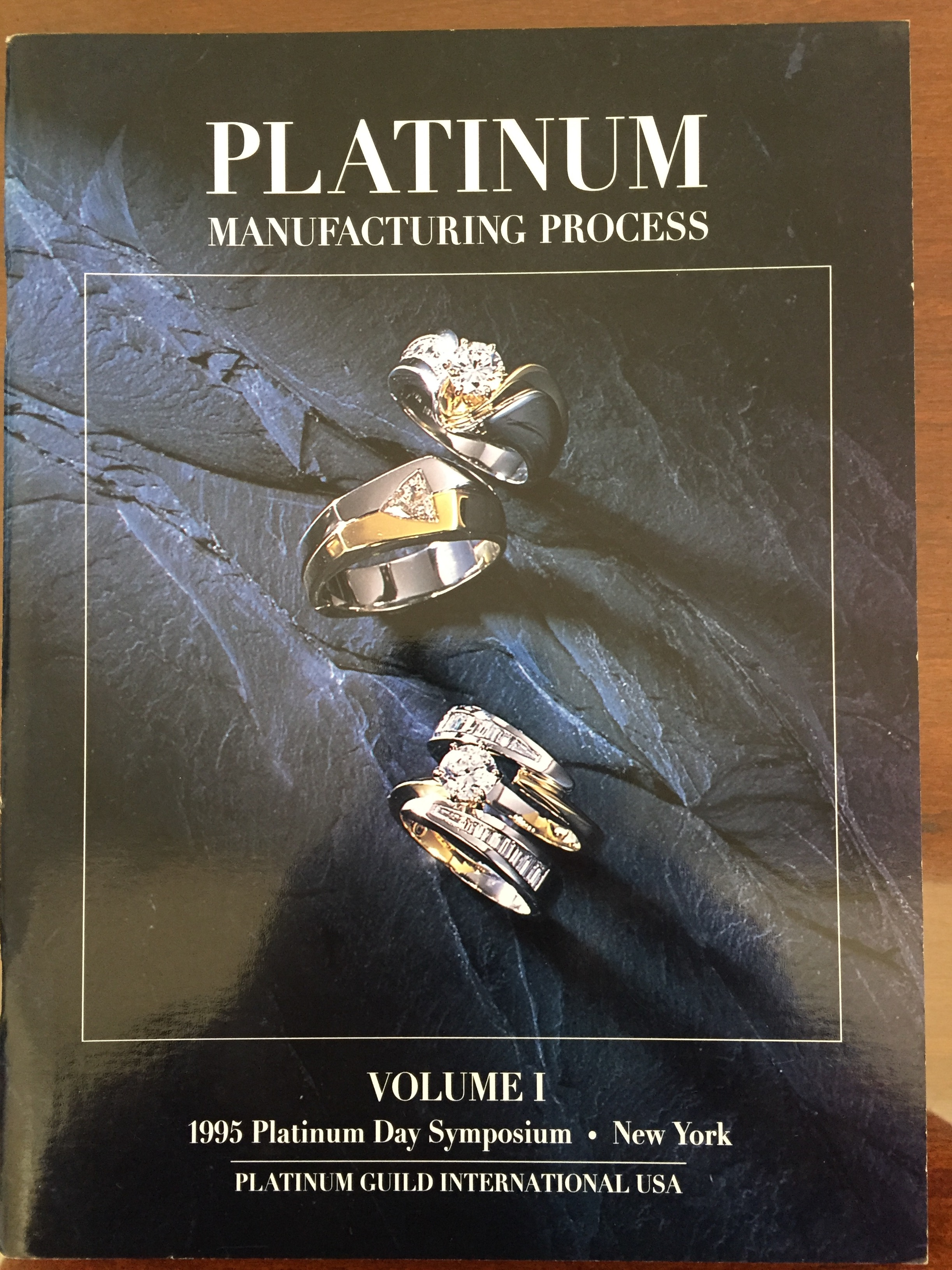 Image for Platinum Manufacturing Process Volume I