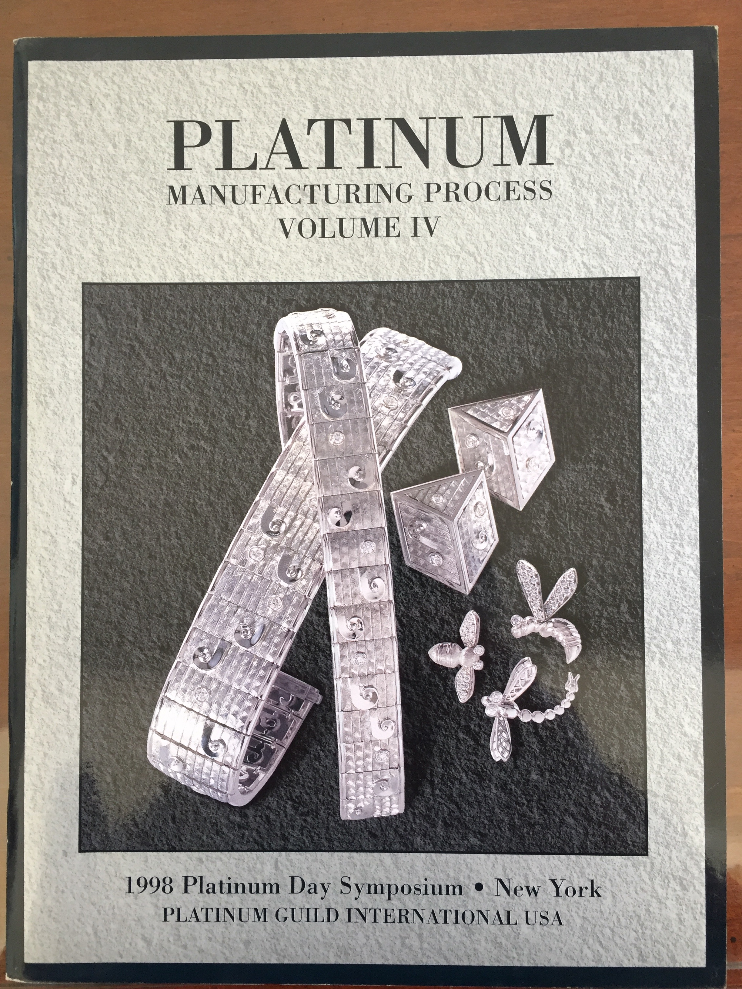 Image for Platinum Manufacturing Process Volume IV