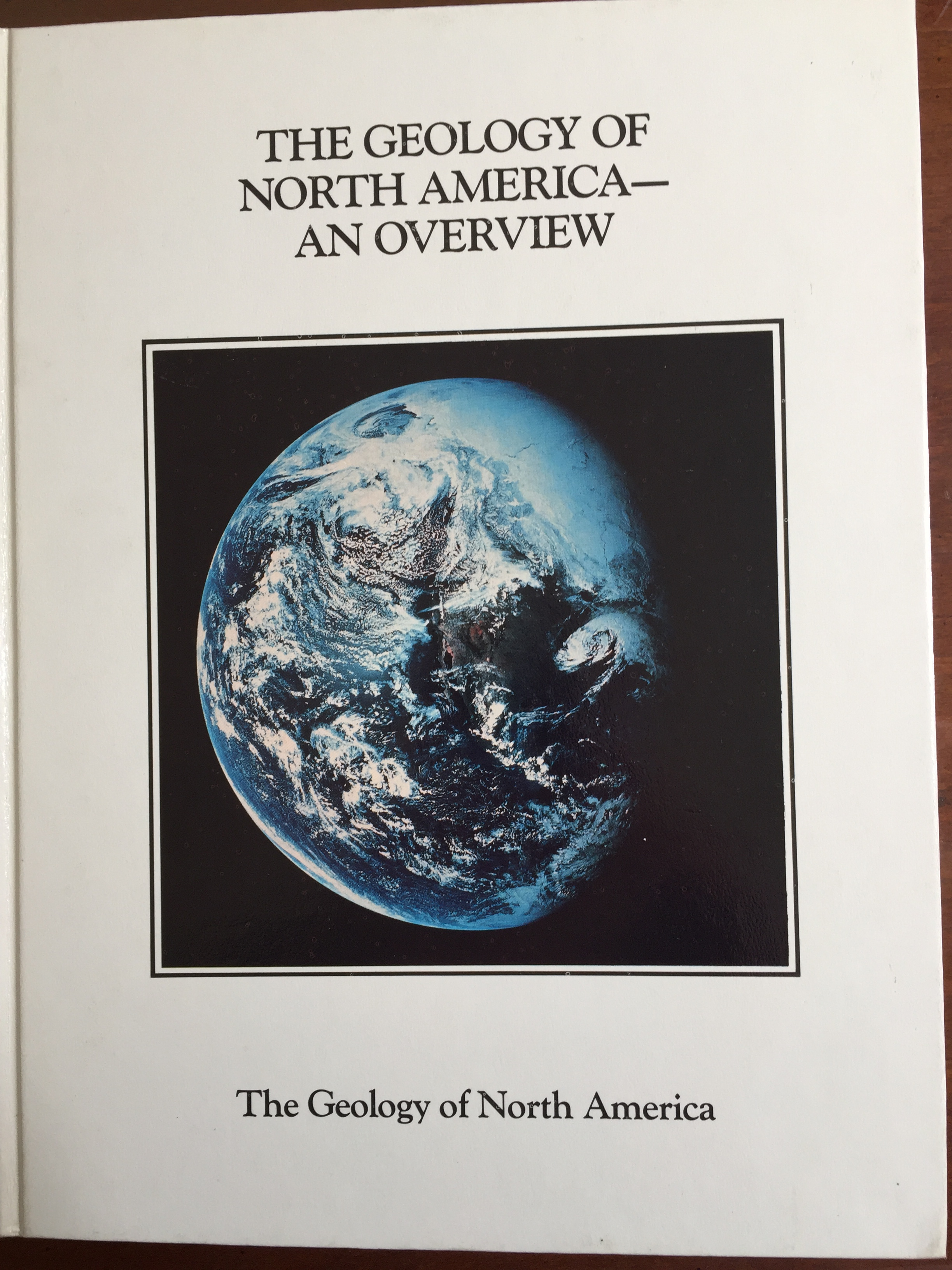 Image for The Geology of North America - An Overview