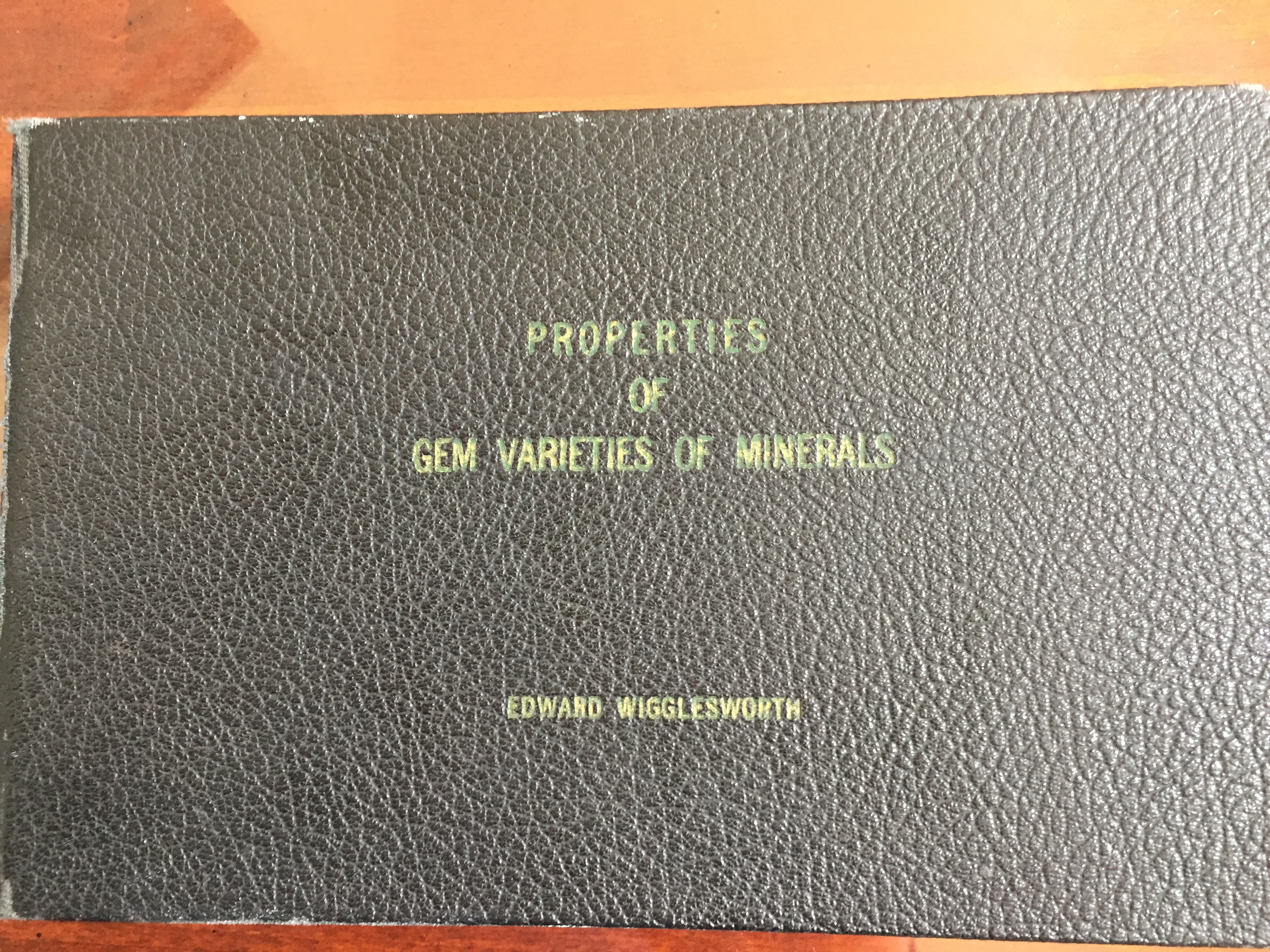 Image for Properties of Gem Varieties of Minerals