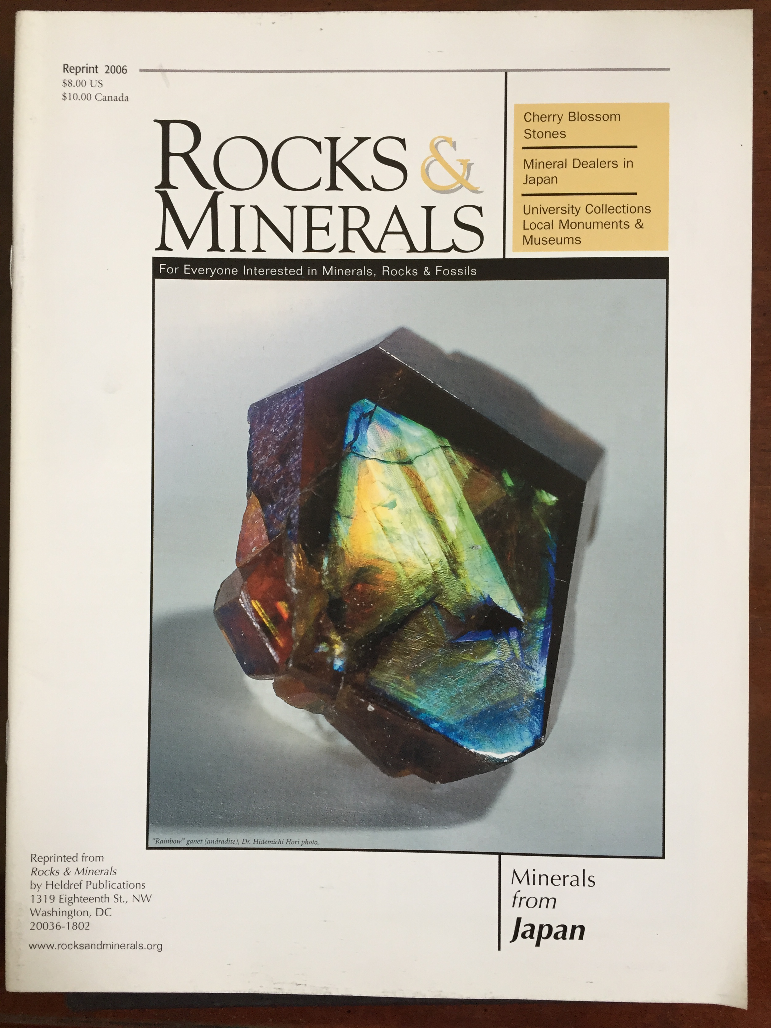 Image for Minerals from Japan