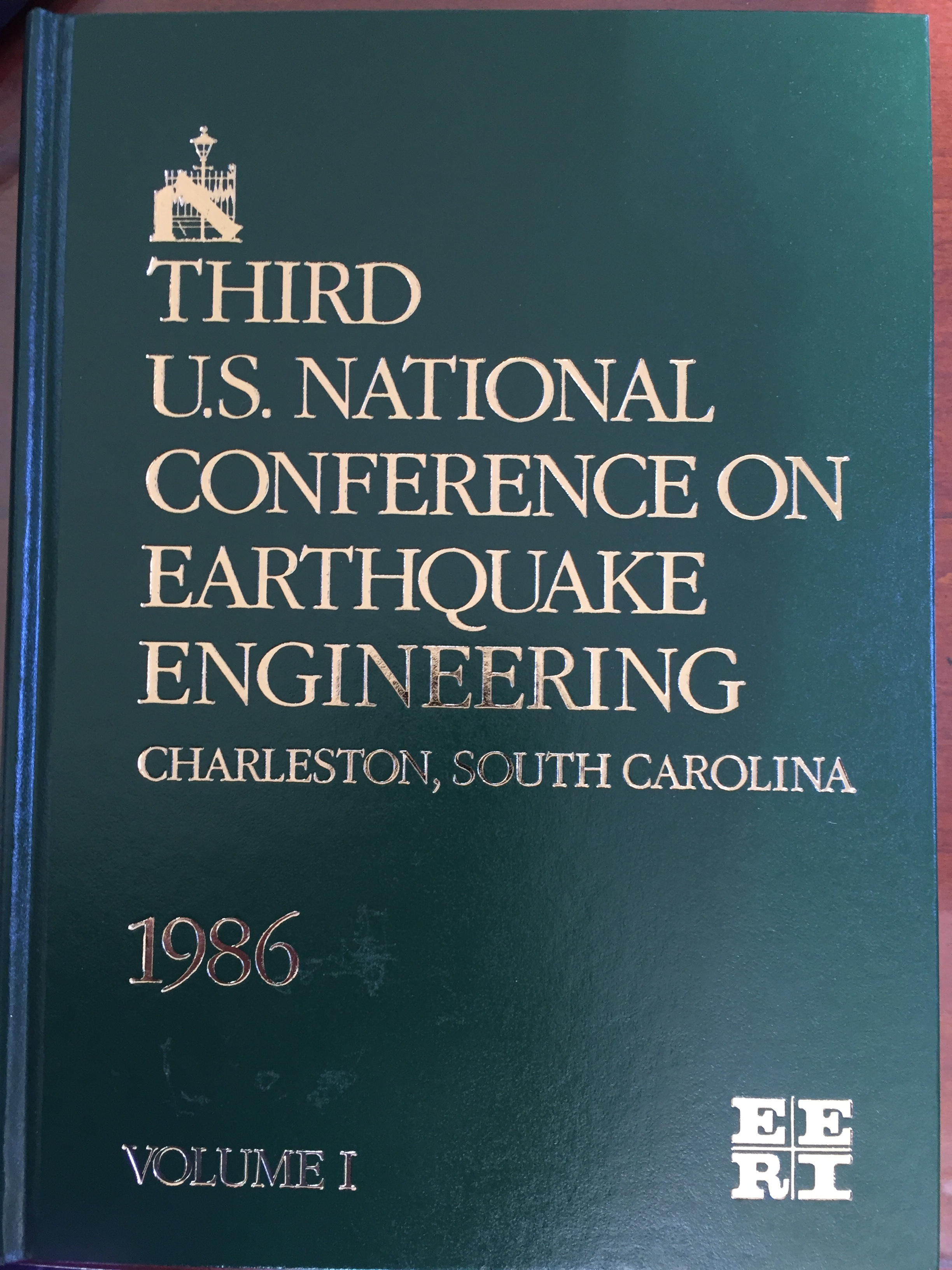Image for Third U.S. National Conference on Earthquake Engineering, 4 Volume Set