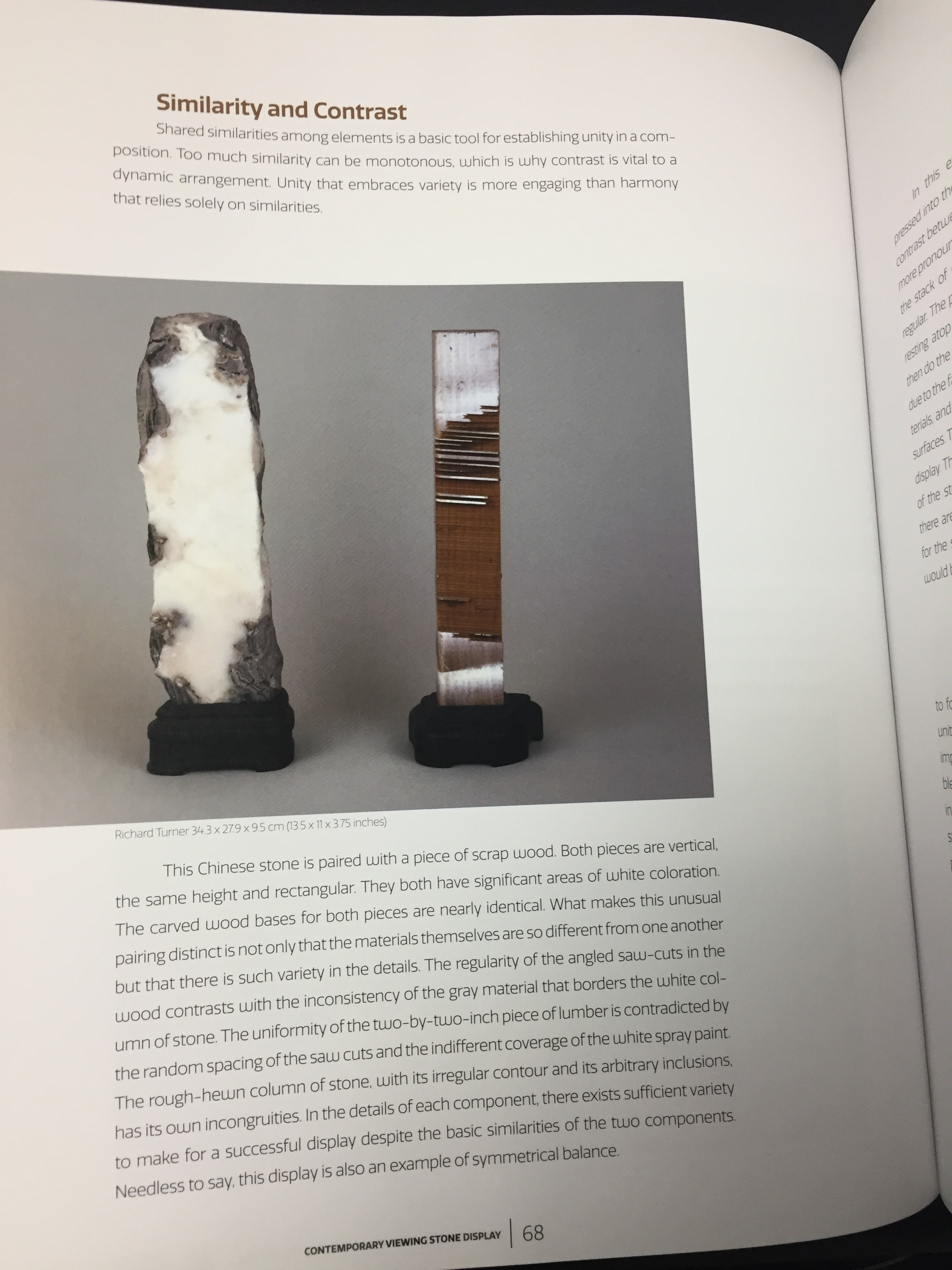 Image for Contemporary Viewing Stone Display