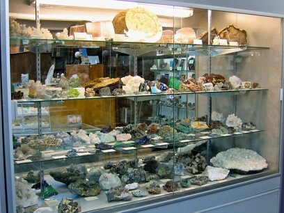 Mineral Displays Full of Specimens