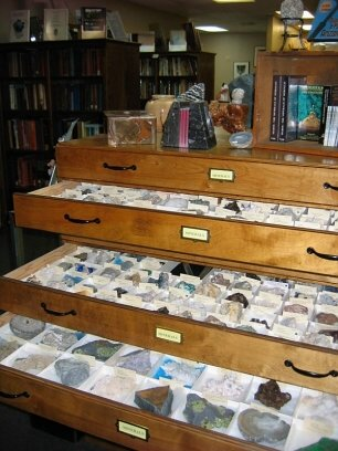 Drawers Full of Minerals
