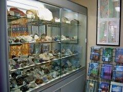 Cabinets Full of Minerals